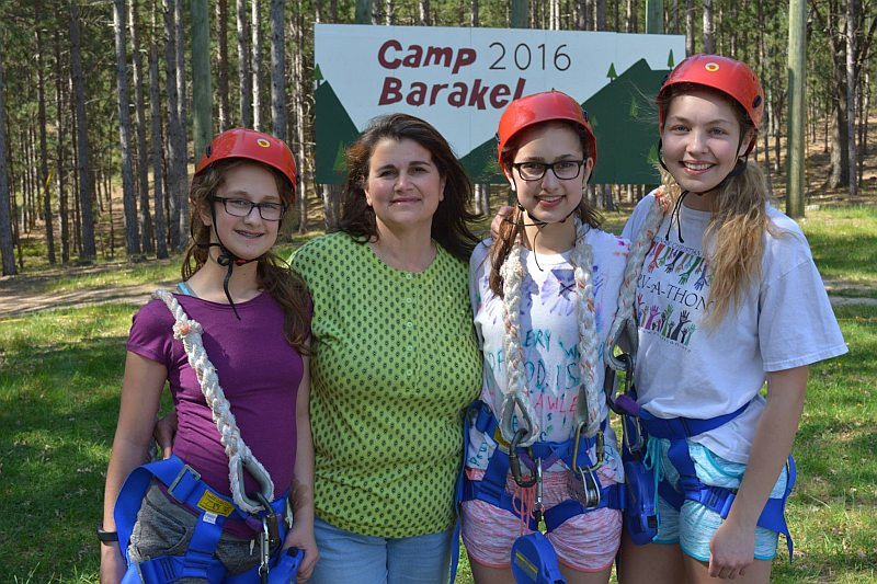 Events camp barakel for Mother daughter weekend getaways
